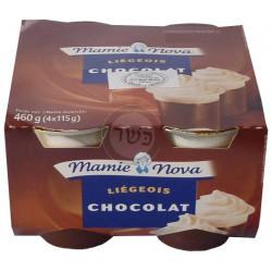 Liegeois Chocolat  x 4