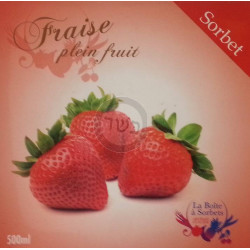 Sorbet fraise 500ml