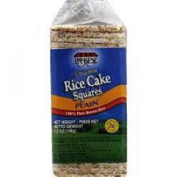 Rice cake squares plain- 140g - 43