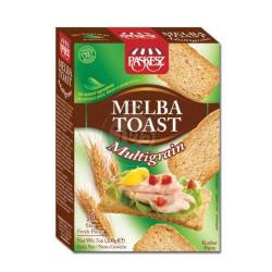 Melba toast multigrain- 200 g - 43