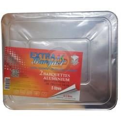 Barquettes aluminium AVEC...