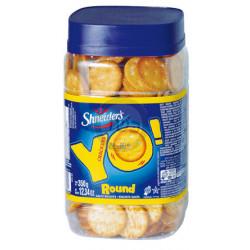 Yo crackers round 350g