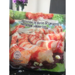 Queue de crevettes  500 gr