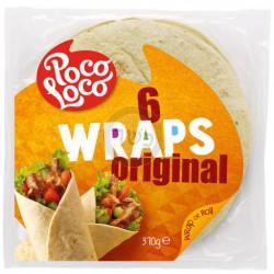 Wraps  X6  370g