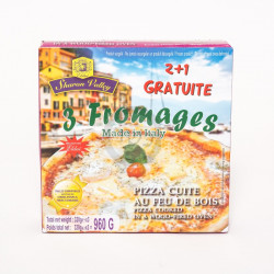 Pizza 3 fromages 2+1 960g