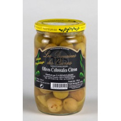 Olives colossales citron72 cl