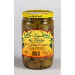 Olives cassées aromatisées 720g
