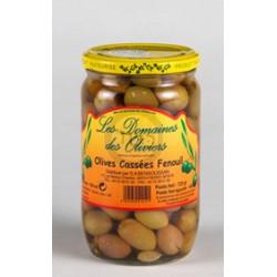 Olives cassées Fenouil 72cl